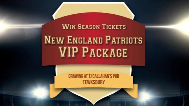 New England Patriots Raffle 2018